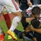 Конфуз на матче квалификации Чемпионата Европы