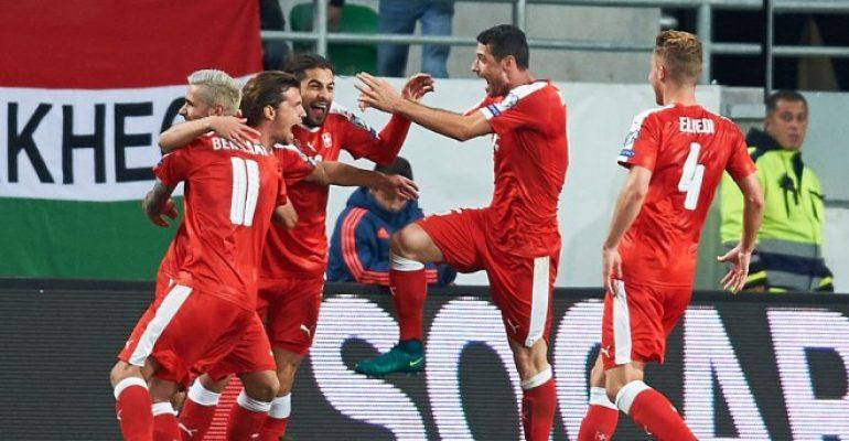 Прогноз. ЧМ-2018. Победа Швейцарии в игре с Венгрией